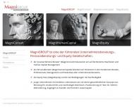 Bild Webseite MagniGROUP München