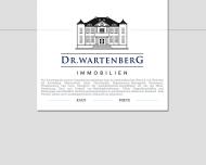 Bild Webseite Dr. Wartenberg Immobilien München
