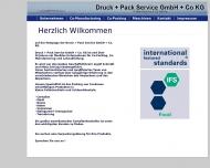 Bild Druck + Pack Service GmbH + Co. KG