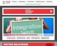 Bild Webseite DStGB Dienstleistungs Berlin