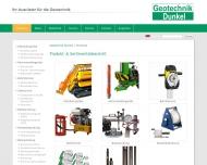 Website Dunkel Verwaltungs