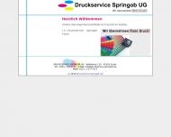 Bild Druckservice Springob UG (haftungsbeschränkt)