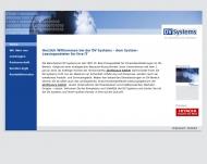 Bild Webseite DV Systems Köln