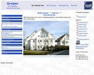 Bild Webseite Gruber Immobilien-Hausverwaltung Inh. Stefan Gruber e.Kfm. München