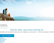 Bild Webseite DZH Dienstleistungszentrale für Heil- und Hilfsmittelanbieter Hamburg