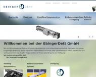 Bild EbingerDett GmbH, Handhabungs- und Automatisierungstechnik