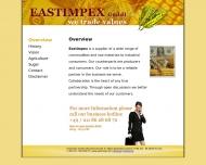 Bild Webseite EASTIMPEX Düsseldorf