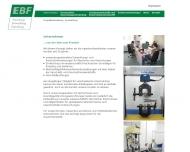 Bild EBF Dresden GmbH Forschung, Entwicklung, Erprobung