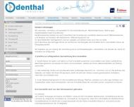 Website Frank Odenthal Verwaltung