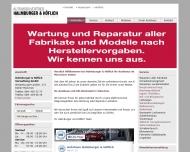 Bild Webseite Halmburger & Höflich Verwaltung München
