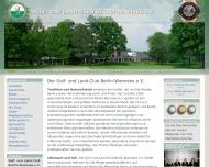 Bild Webseite Golf- und Land-Club Berlin-Wannsee Berlin
