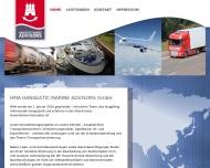 Bild Webseite HMA Hanseatic Marine Advisors Hamburg