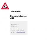 Bild dataprint Dienstleistungen oHG