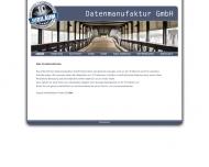 Bild Webseite Datenmanufaktur Hamburg