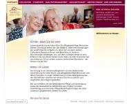 Bild Webseite Domicil-Seniorenpflegeheim Techowpromenade Berlin