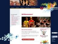 Bild Webseite Deutscher Chorverband PUERI CANTORES Köln
