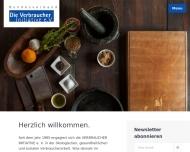 Bild Webseite Die Verbraucher Initiative Berlin
