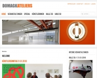 Bild Webseite DOMAGKATELIERS gemeinnützige München