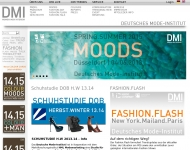 Bild Webseite Deutsches Mode - Institut DMI Köln
