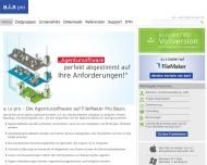 Website DeskTop Organisation