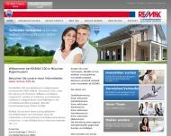 Bild Webseite Immobilien 100 München