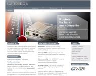 Bild Webseite Garderos Software Innovations München