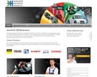 Bild Webseite Hamburger-Hochdruck-Hydraulik Hamburg