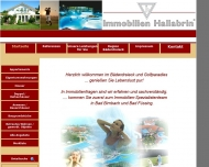 Bild Webseite Immobilien Hallabrin Bad Birnbach