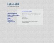 Bild Webseite Inline Softwaretechnik Berlin