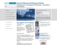 Bild Webseite Real Inform Hamburg