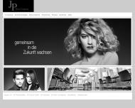 Bild Webseite JP Hair Company Berndt & Petter Köln