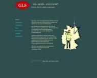 Bild Webseite GLS Gleis-Logistik-Service Berlin