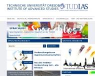 Bild Webseite IAM Dresden Institute Automotive Mechatronics Dresden