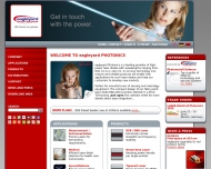 Bild Webseite Eagleyard Photonics Berlin