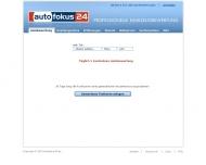 Bild Webseite Fahrzeugbewertung Autofokus24 Dresden