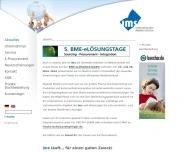 Bild Webseite ims Internationaler Medien Service Hamburg