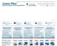 Bild Webseite LASER PLUS Hamburg
