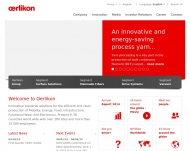 Bild Webseite Oerlikon Real Estate Köln