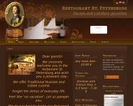 Bild Webseite Pulat Nasarow Restaurant St. Petersburg Dresden
