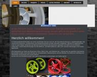 Bild Webseite Pulverbeschichtung Wedel Wedel