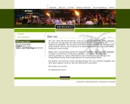 Website MückenWirt Gaststättenbetriebsgesellschaft
