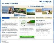 Bild Webseite REHASAN Konzept Köln