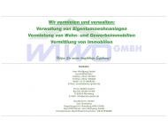Bild Webseite WIWO - Immobilien und Hausverwaltungsgesellschaft Nürnberg
