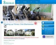 Bild Webseite Shaping-up Hamburg