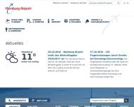 Bild Webseite SecuServe Aviation Security and Services Hamburg Hamburg