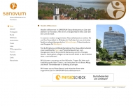 Bild Webseite SANOVUM Konstanz Konstanz