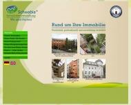 Bild Webseite Schwabia Immobilienverwaltung Berlin
