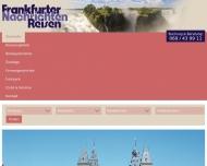 Bild Webseite Frankfurter Nachrichten Verlagsgesellschaft Frankfurt
