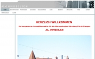 Website A1 Immobilien