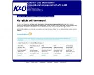 Bild Kohnen und Oberdorfer Steuerberatungsgesellschaft mbH